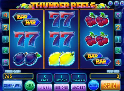 Thunder Reels pelaa gioca allo slot online per soldi